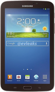 Réparation Galaxy Tab 3 7.0 Pouces SM-T2100 Wifi Écran cassé