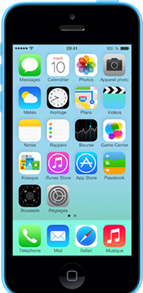 Réparation IPHONE 5C Bouton Home